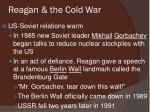 reagan the cold war2