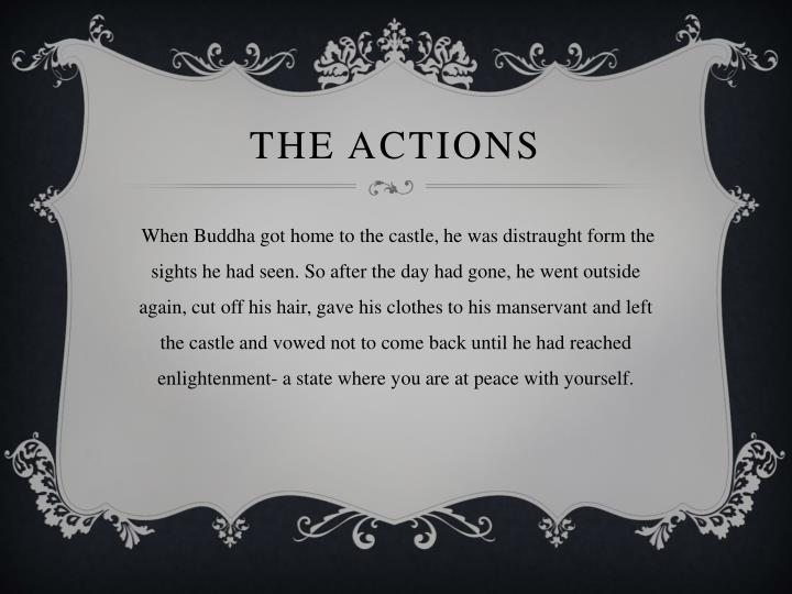 The actions