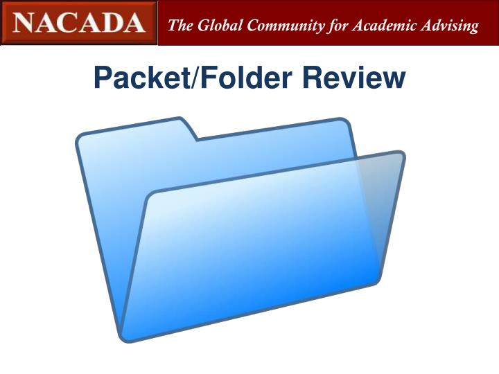 Packet/Folder Review