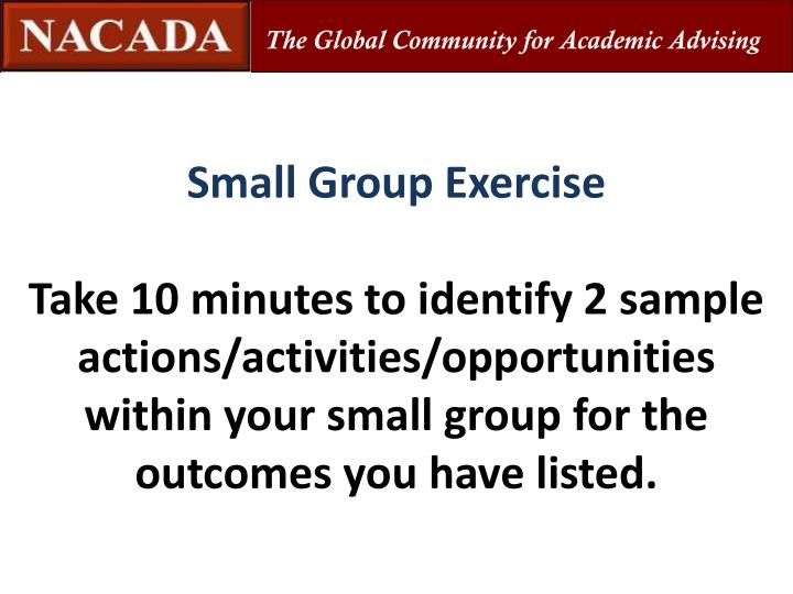 The Global Community for Academic Advising