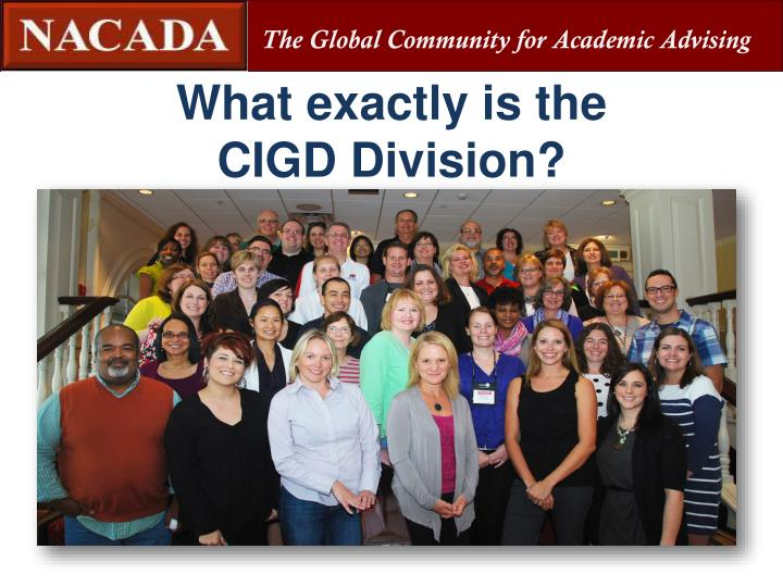 What exactly is the cigd division