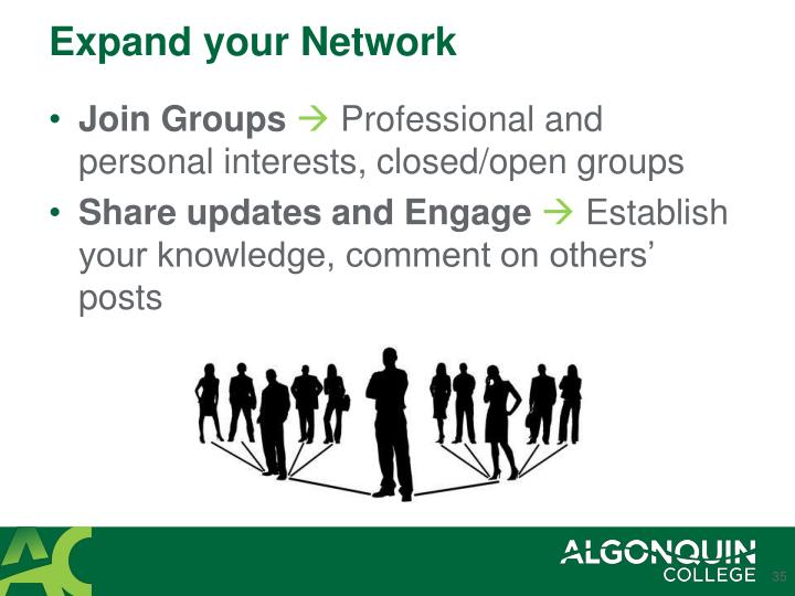 Expand your Network