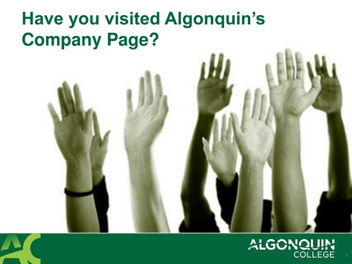 Have you visited Algonquin's Company Page?