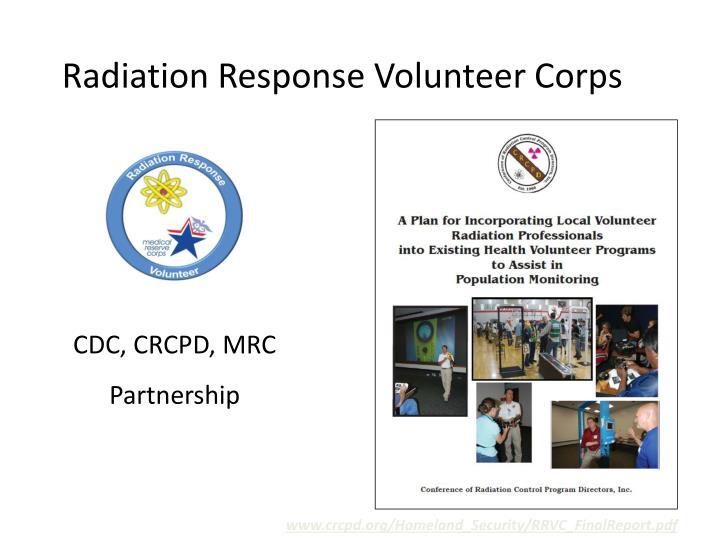 Radiation Response Volunteer Corps