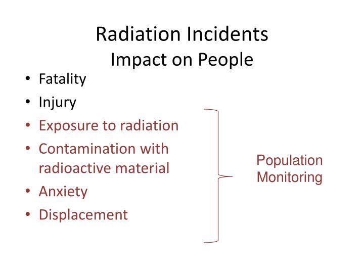 Radiation Incidents