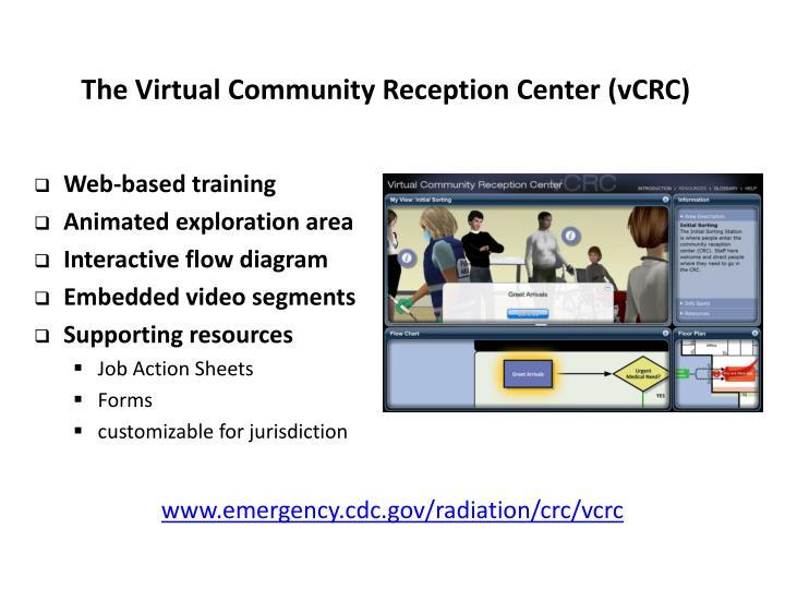 The Virtual Community Reception Center (vCRC)