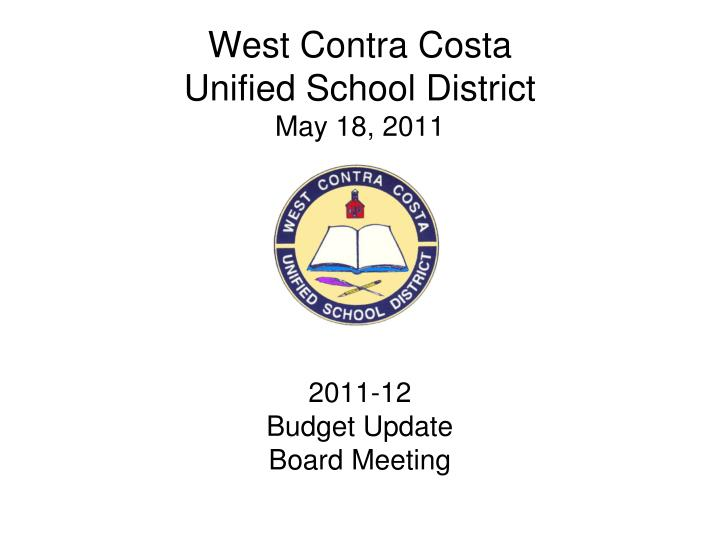 west contra costa unified school district may 18 2011 n.