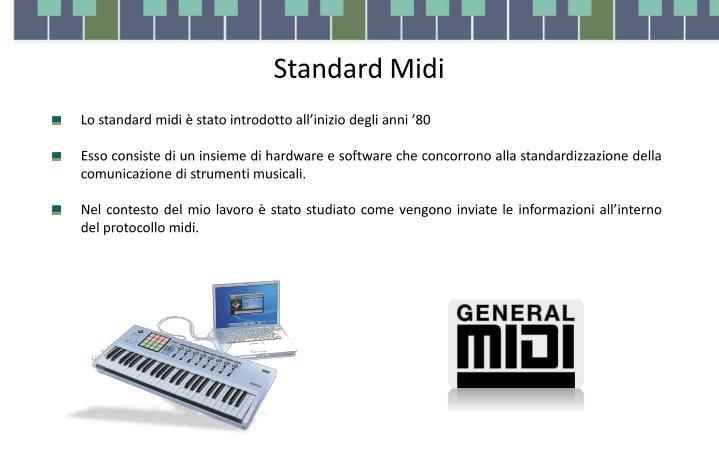 Standard Midi