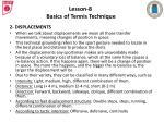 lesson 8 basics of tennis technique2