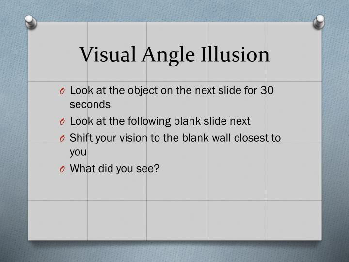 Visual Angle Illusion