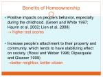 benefits of homeownership