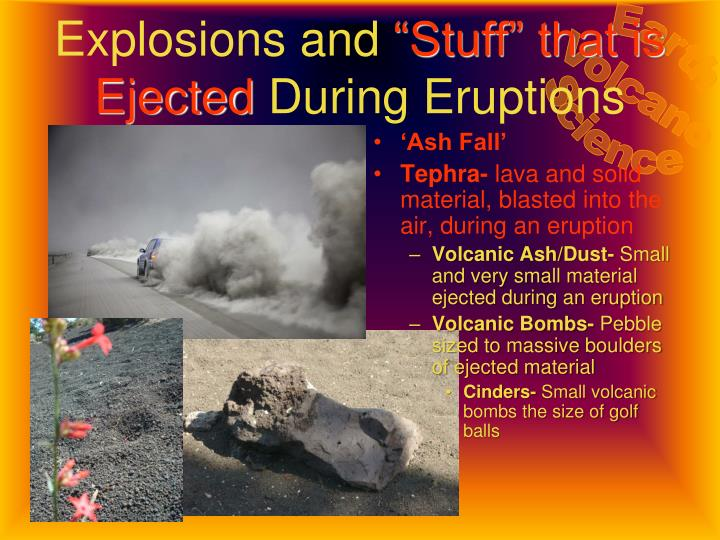 Explosions and
