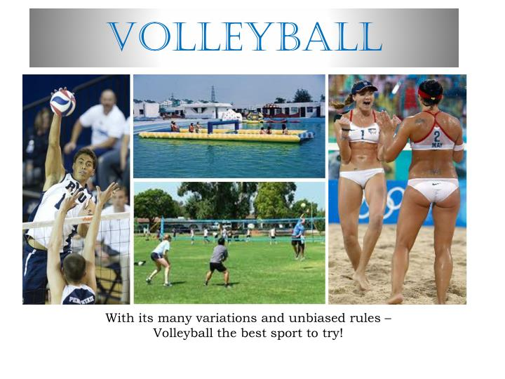 volleyball n.