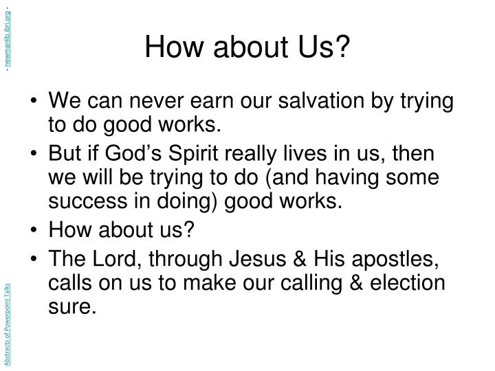 How about Us?