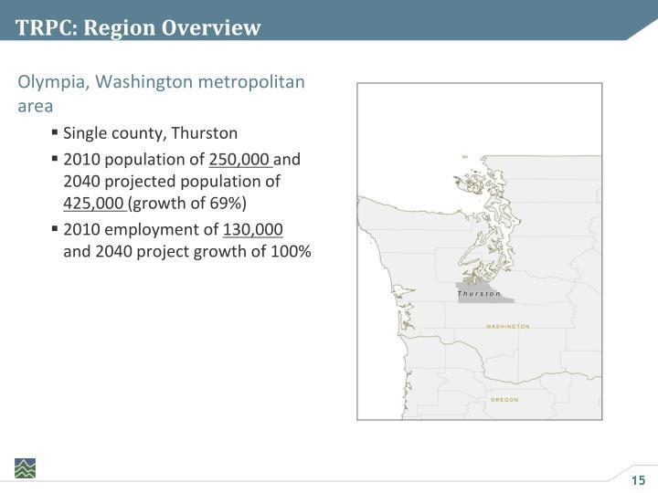 TRPC: Region Overview