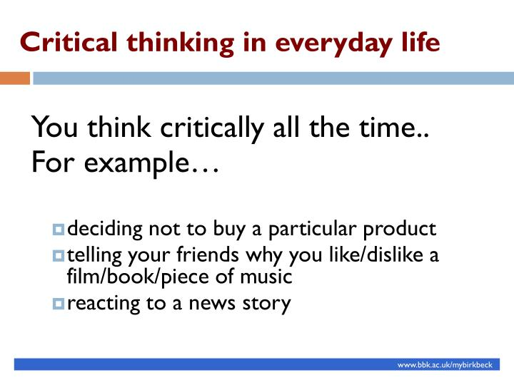 Ppt Being A Critical Thinker Powerpoint Presentation Id2461294