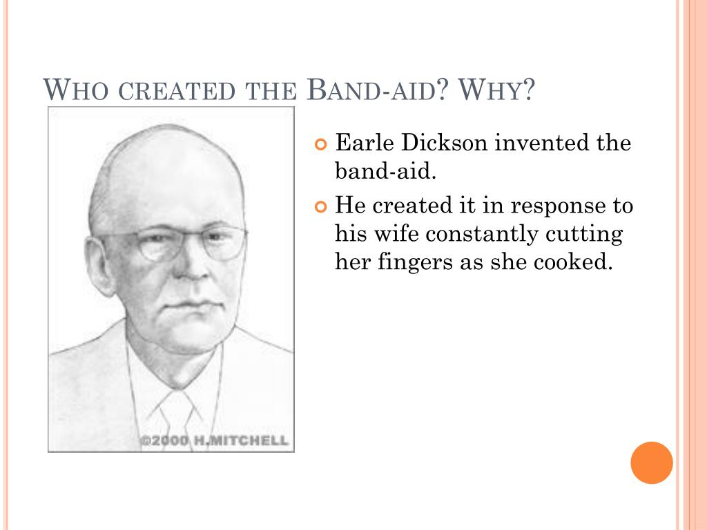 Who Invented The Band Aid >> Ppt The History Of The Band Aid Powerpoint Presentation Id 2461353