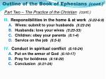 outline of the book of ephesians cont1