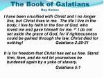 the book of galatians key verses