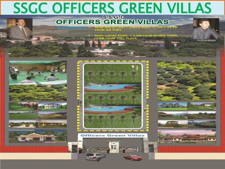 SSGC OFFICERS GREEN VILLAS