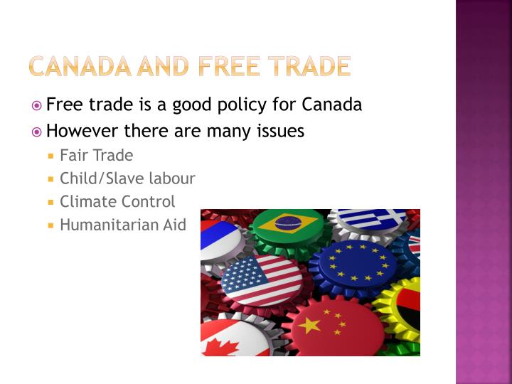 Canada and Free Trade