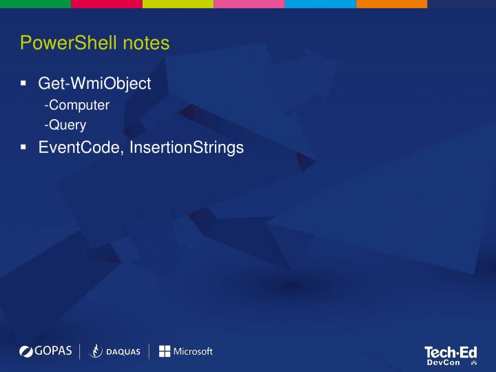 PowerShell notes