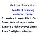 ch 8 the history of life4