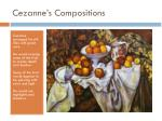cezanne s compositions