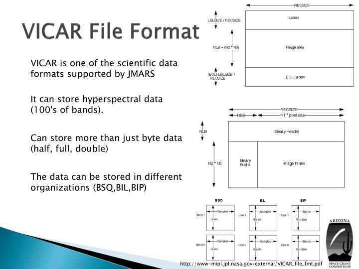 VICAR File Format