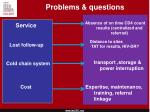 problems questions
