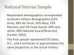 national veteran sample2