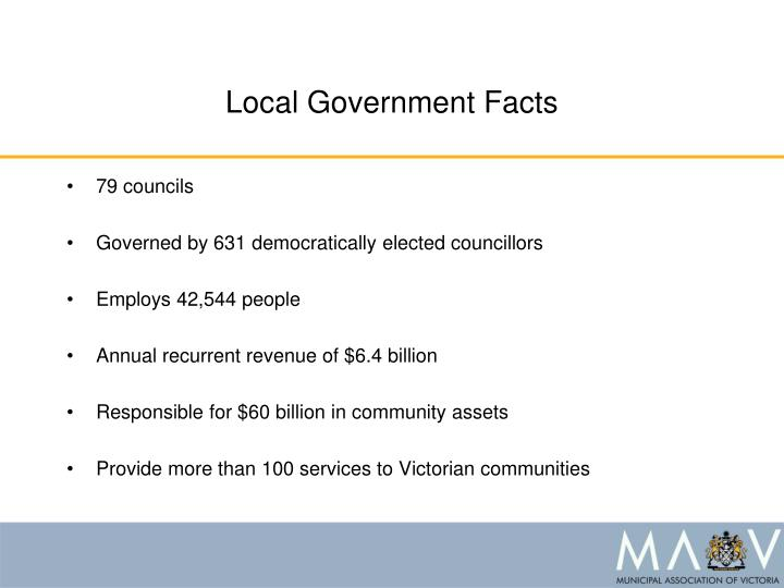L ocal government f acts