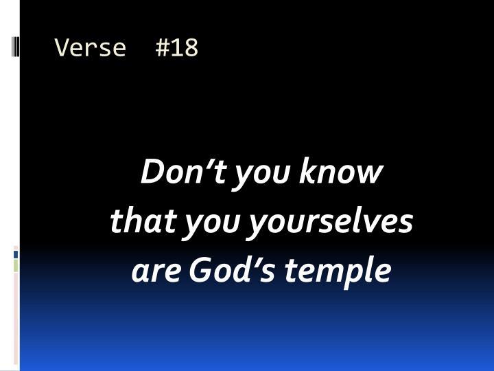 Verse  #18