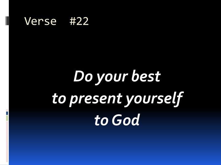 Verse  #22