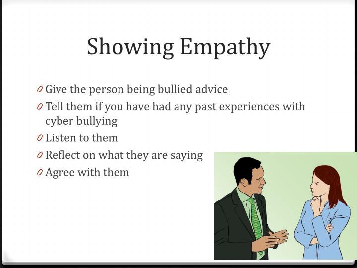 Showing Empathy