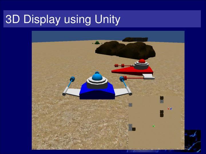 3D Display using Unity