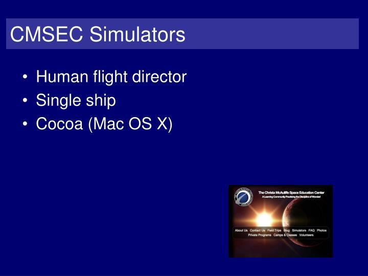 CMSEC Simulators