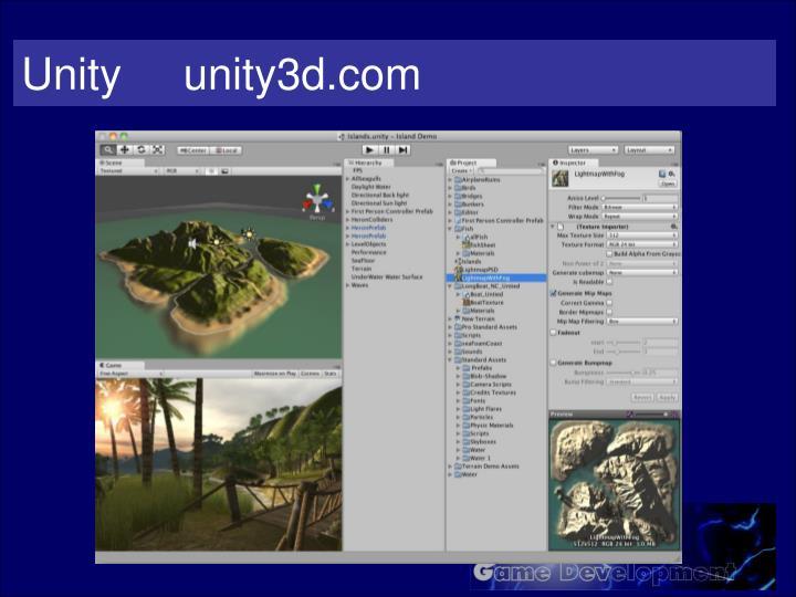 Unity     unity3d.com