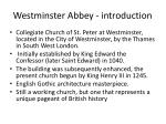 westminster abbey introduction