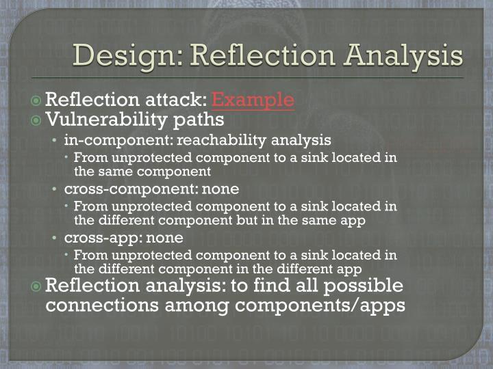 Design: Reflection