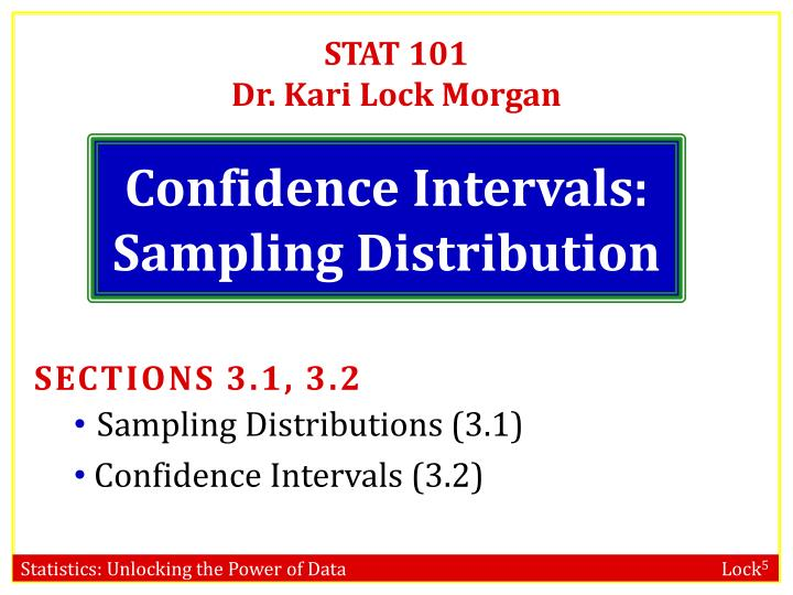 Stat 101 dr kari lock morgan