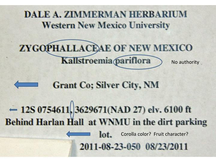 PPT - Making Herbarium Labels PowerPoint Presentation - ID:2463852