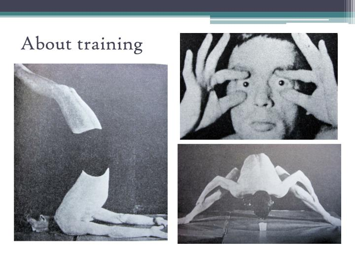 About training