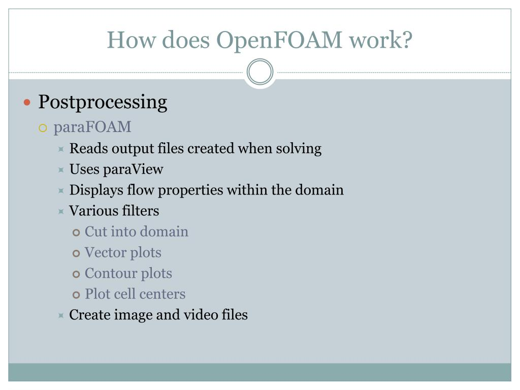 PPT - Open Source Field Operation and Manipulation PowerPoint