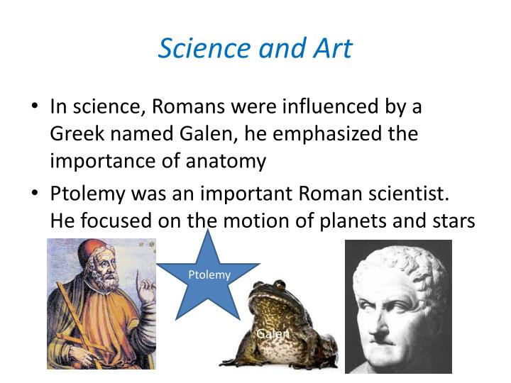 Science and Art