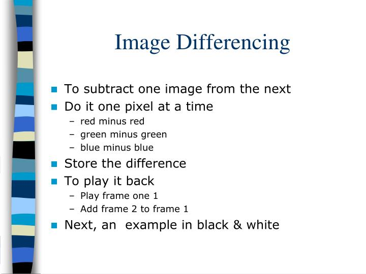 Image Differencing