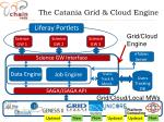 the catania grid cloud engine