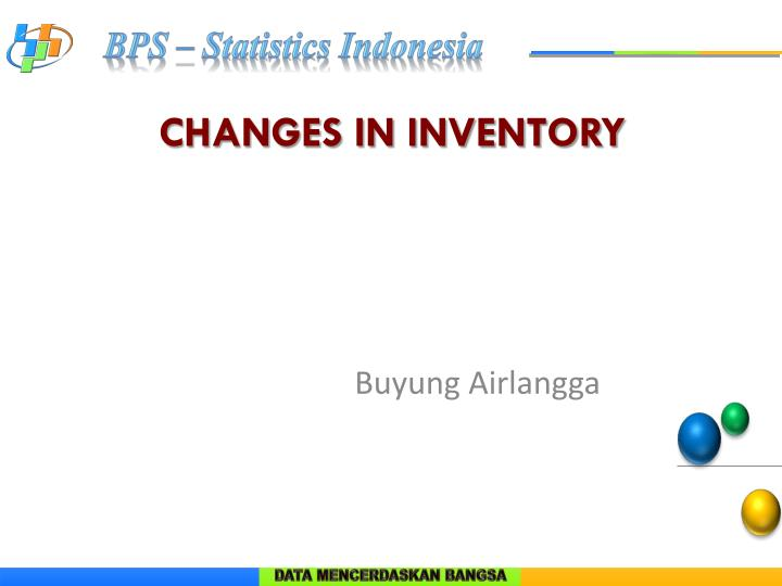 changes in inventory n.