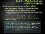 task 1 web control with vanilla javascript1