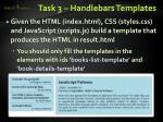 task 3 handlebars templates1